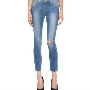 Frame le skinny de jeanne crop fairfax jeans